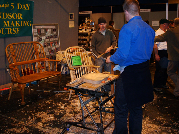 Hand Carving and Chairs