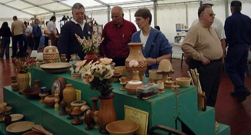display stand at New Deer Show 2005